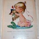 Bell Telephone Baby & Kitten ad