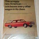1966 American Motors Rambler American 440 4 dr stationwagon car ad