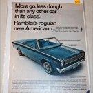 1966 American Motors Rambler American 440 convertible car ad