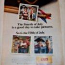 1968 Kodak Film Fourth Of July ad