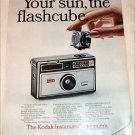1967 Kodak Instamatic 104 Camera ad