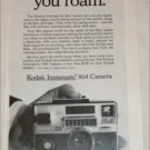 1967 Kodak Instamatic 804 Camera ad