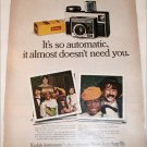 Kodak Instamatic 414 Camera ad
