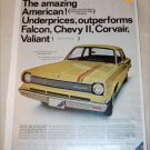 1966 American Motors Rambler American 220 2 dr sedan car ad yellow