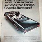 1966 American Motors Rambler Classic convertible car ad