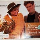 1985 Benson & Hedges 100's Cigarette Flea Market ad
