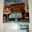 1967 Global Van Lines Disneyland ad