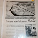 1941 Goodyear Company Rubber Railroad ad