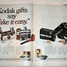 1969 Kodak Instamatic Cameras Christmas ad