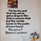 1970 Kodak Instamatic 124 Camera The Scene ad