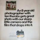 1970 Kodak Instamatic 44 Camera ad