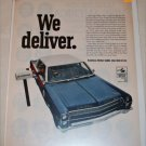 1967 American Motors Ambassador 4 dr sedan mail car ad