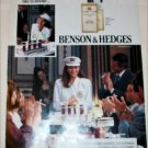 1989 Benson & Hedges 100's Cigarette Cruise Ship ad