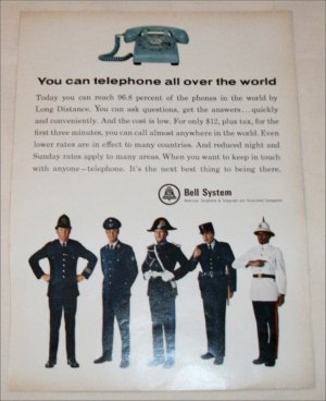 Bell Telephone World ad