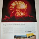 1957 Caterpillar Atomic Blast ad