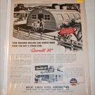 1946 Great Lakes Steel Quonset Hut ad