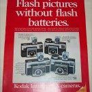 1970 Kodak Instamatic X Cameras ad