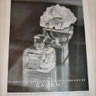 1948 Caron Fleurs De Rocaille & Be Llodgia Perfume ad