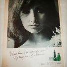 Coty Emeraude Perfume ad