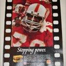 1985 Kodak Kodacolor VR 400 NFL Film ad