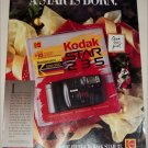 1990 Kodak Star 235 Camera & Kodacolor Gold 200 Film Christmas ad