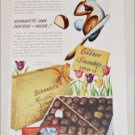 1952 Schraft's Chocolates Easter ad