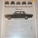 1967 American Motors Rambler American 220 2 dr sedan car ad