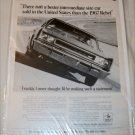1967 American Motors Rebel SST 2 dr ht car ad b&w