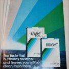 1983 Bright Cigarette ad