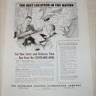 1948 Cleveland Electric Illuminating Company ad