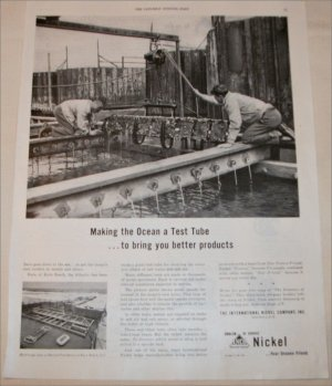 1948 Inco Nickle Test Tube ad
