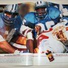 1992 Kodak Ektar 100 Film NFL ad