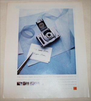 1999 Kodak Advantix T550 Camera ad