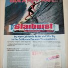1989 Starburst Candy Sweepstakes ad