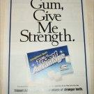 1999 Trident Advantage Gum ad
