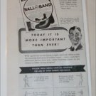 1944 Ball-Band Footwear ad featuring 1914 ad