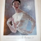 1956 Ballantyne Cashmere ad from Great Britain