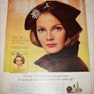 1965 Cover Girl Makeup ad featuring Barbara Berger