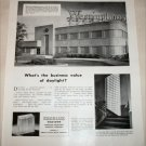 1948 Insulux Glass Block ad featuring Westinghouse