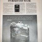 Minolta XG7 Camera ad