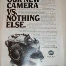1981 Minolta XG-M Camera ad