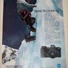 1990 Minolta Maxxum 7000L Camera ad