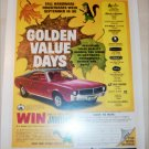1968 Hardware-Houseware ad featuring American Motors Javelin