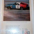 1968 Champion ad featuring American Motors AMX