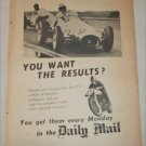 1955 Daily Mail ad from Great Britain