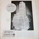 Jenkins Valves Park Avenue ad