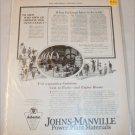 1923 Johns-Manville ad