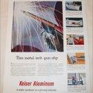 1951 Kaiser Aluminum ad