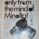 1995 Minolta Maxxum 600si Camera ad