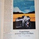 1980 Nikon FE Camera ad #2